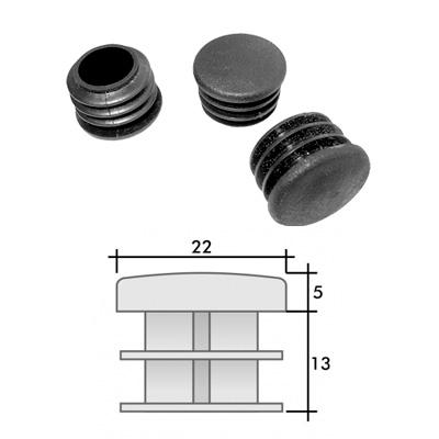 Заглушка д. 22 круглая и схема