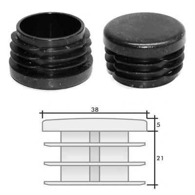 Заглушка д. 38 круглая и схема