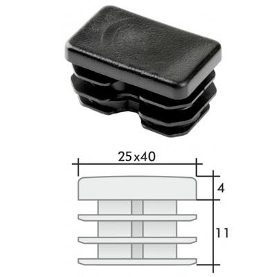 Заглушка 25х40 прямоугольная и схема
