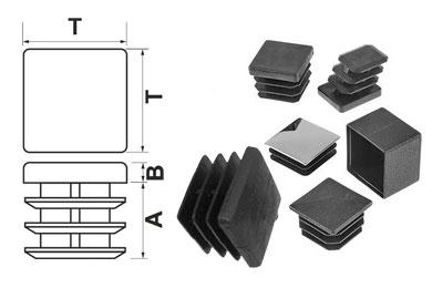 Квадратные заглушки и схема