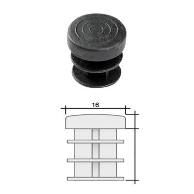 Заглушка д. 16 круглая и схема