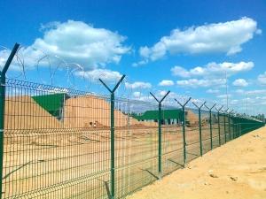 Забор с проволокой АКЛ «Егоза»