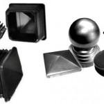 Заглушки черные пластмассовые